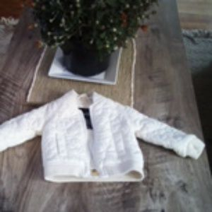Quilted Fleece Coat
